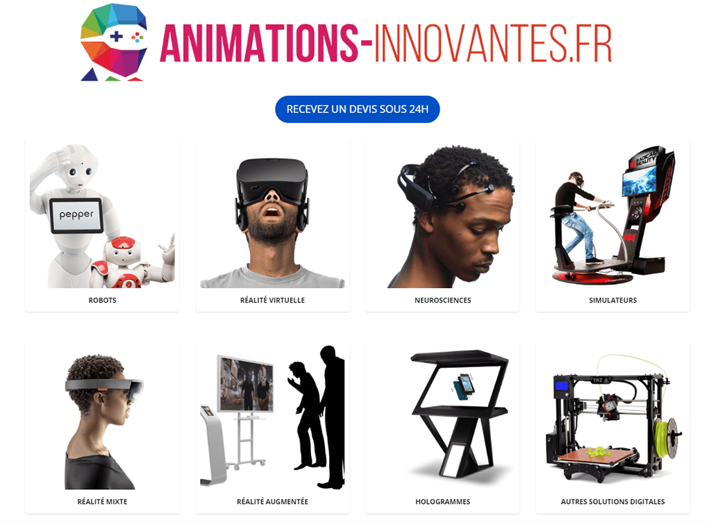 Animations innovantes home